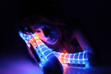 LED Arm Guard - Bracers - Gauntlets